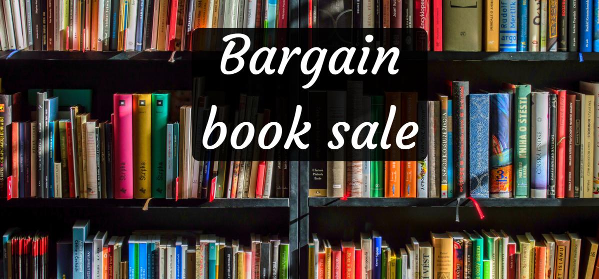 POSTPONED Bargain booksale