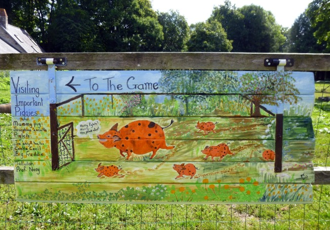 Art Panel Pigs