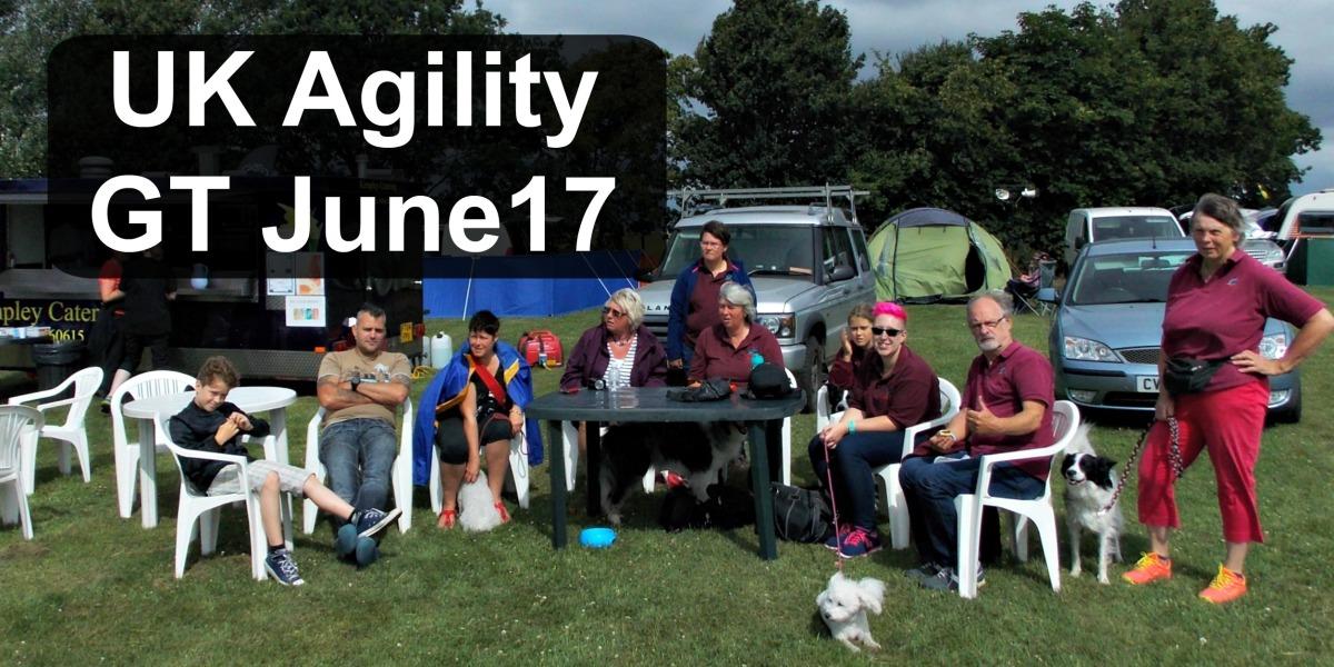 UK Agility Competition June 2017 | Concours Agility du Royaume-Uni Juin2017
