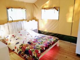 safari tent bedroom